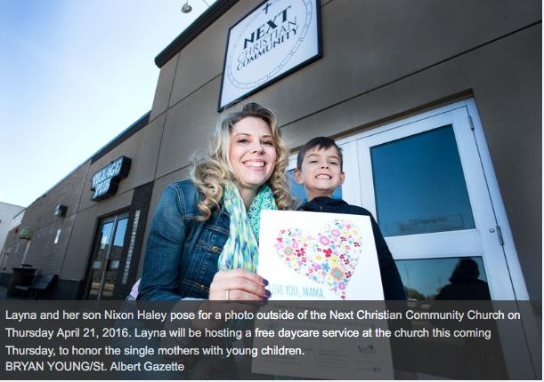 St. Albert Gazette – Nurturing single moms